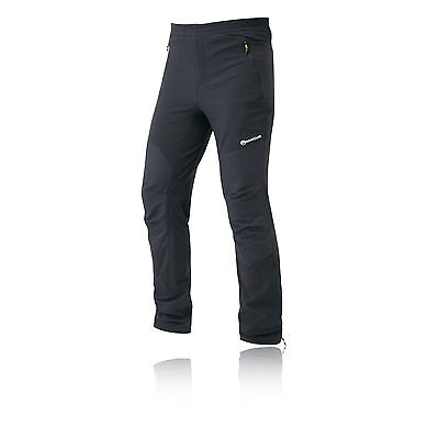 Montane Alpine Mens Black Outdoor Walking Hiking Stretch Pants Trousers New