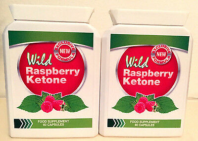 wild raspberry ketone 2x 60 capsules eur 73 92. Black Bedroom Furniture Sets. Home Design Ideas