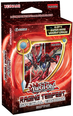 YuGiOh! Raging Tempest : Special Edition :: Brand New And Sealed Box!