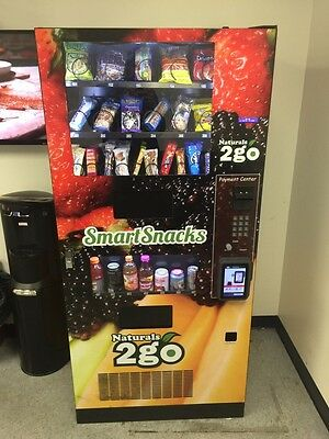 Natural 2go combo Vending Machine  w/Credit card reader