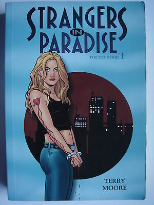 Terry Moore - Strangers In Paradise Pocket Book 1  paperback comic graphic novel