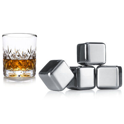 SET 4 CUBETTI PERPETUI DA WHISKY By Vacuvin