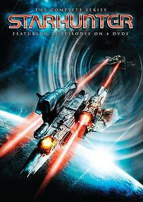 NEW/SEALED - Starhunter - The Complete Series (DVD, 2011, 4-Disc Set,