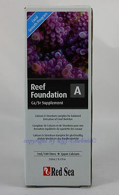 Red Sea Reef Foundation A 250ml MHD 3/17 Calcium Strontium Komplex 19,96€/L