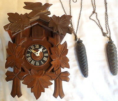 CUCKOO CLOCK. Black Forest  by G MANGEM for Restoration or Spares, 6th Aug.1955
