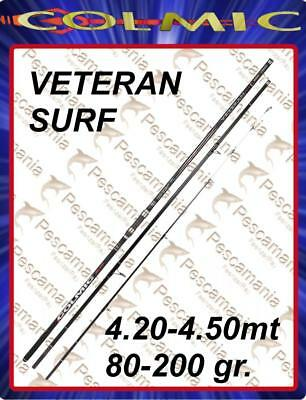 Colmic rod VETERAN SURF casting mt.4,20-mt.4,50 80-200gr. 3 sections