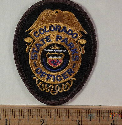 Colorado State Parks Officer Police Shoulder Embroidered Iron-On Patch