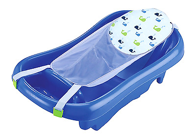 Baby Infant Tub Comfort Deluxe Shower Newborn To Toddler bath Blue FAST SHIPPING