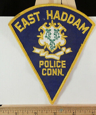 East Haddam Conn. Police Embroidered Patch Sew-On