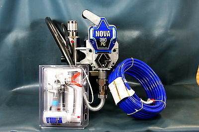 NEW - Graco Nova 390 PC Stand SW Electric Airless Paint Sprayer 826195