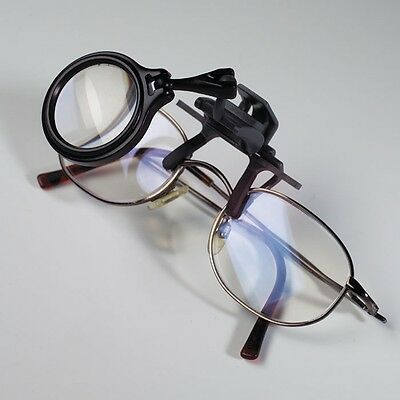 Lighthouse New Clip On Magnifier for Reading Glasses 5x magnification US Coins
