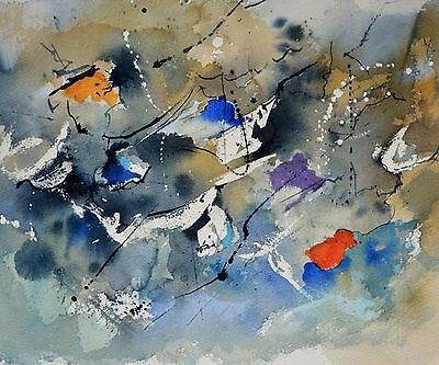 """Abstract Canvas Painting Print Wall Art Modern Picture 20""""x24"""""""