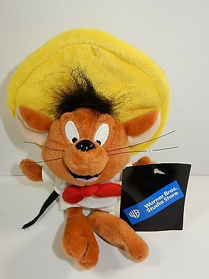 "Warner Brothers Speedy Gonzales 10"" Bean Bag Plush w/Tags"