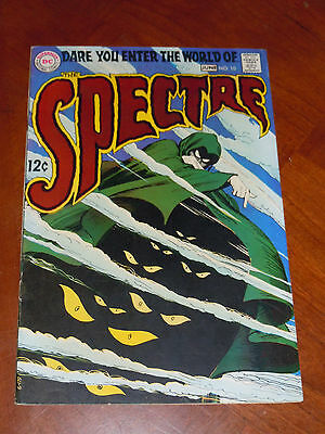 SPECTRE #10 (1969) F-VF (7.0) cond.  LAST ISSUE  Classic NICK CARDY cover