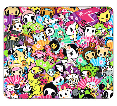 TOKIDOKI Superfan Donutella Donutino Unicorn MOUSEPAD MOUSE PAD Kawaii custom