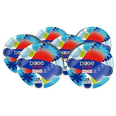Dixie Ultra 20oz Paper Bowl, 26 Count (Pack of 6) New