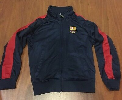 #10 Messi Red & Blue Youth Barcelona Kids Jackets