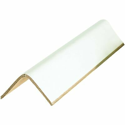 "Tape Logic TLEP2212120BX Edge Protectors, Cased, 0.120"", 2"" x 2"" x 12"", White (P"