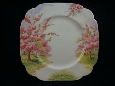 "Royal Albert BLOSSOM TIME Square Dessert Plate 6 3/4"" *Made in England*"