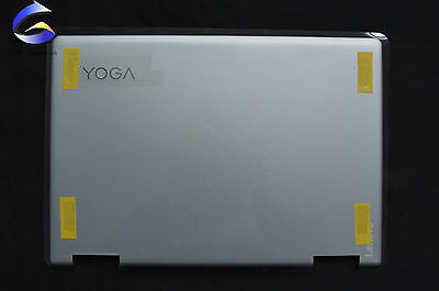 New Lenovo Yoga 710-14ISK 710-14IKB LCD TOP Back Cover Silver AM1JH000610