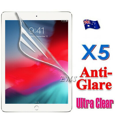 5X Clear & Anti Glare Matte Screen Protector Film for Apple New iPad 5 9.7 2017