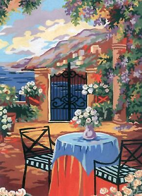 Grafitec Printed Tapestry/Needlepoint Canvas – Tuscan Terrace