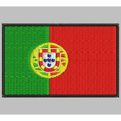 Iron Patch bestickt Patch zona ricamata embroidered patch FLAG PORTUGAL