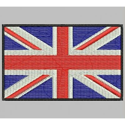 Iron Patch bestickt Patch zona ricamata embroidered patch FLAG REINO UNIDO