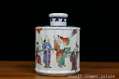 Beautiful Chinese Famille Rose Porcelain Tea cans
