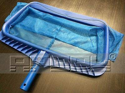 Apool Swimming Pool Deep Leaf Rake Skimmer Massive 20''(500mm) Long