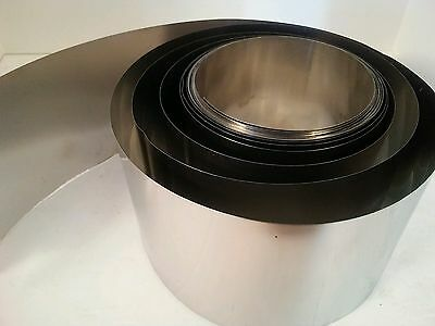"""Steel Shim Stock .009 Thick 6"""" Width 6 inch long 009 0.009 one piece"""
