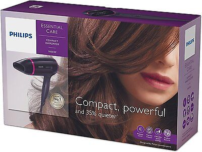 Sèche-Cheveux Compact Essential Care Silence - Philips BHD002/00 - LIV EXPRESS