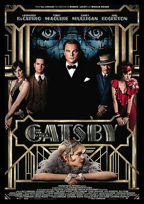 The Great Gatsby DiCaprio Repro Film POSTER