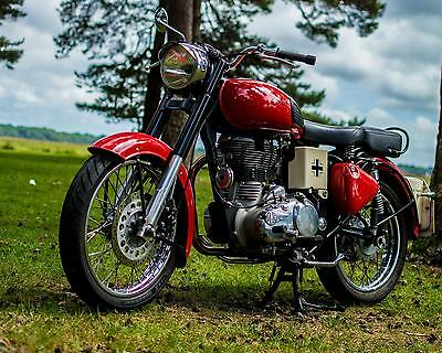 Royal Enfield Bullet Classic 500 -  33bhp At rear wheel  ** One Off **