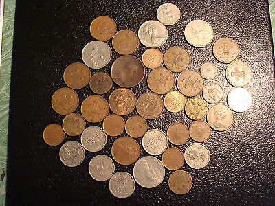 Mixed Lot of 41 Great Britain Coins All 1806-1996 WE COMBINE ON SHIPPING