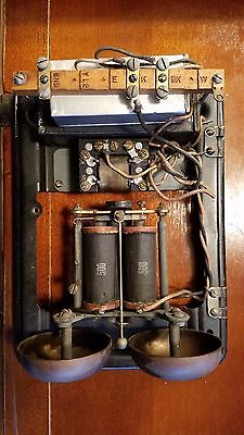Western Electric telephone nice 634 A subset ringer - works, clean