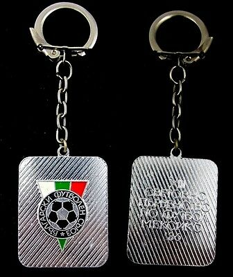 1986 Mexico  FIFA World Cup Bulgarian Football Union Key chain Authentic