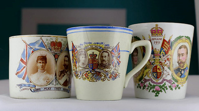 King George V and Queen Mary Coronation china