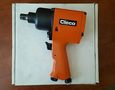 "Cleco Air Impact Wrench WP-455-4P Cooper Tools New in Box 1/2"" Square Drive 6500"