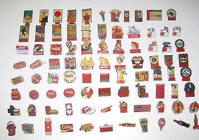 Pin's Publicitaire Collection Metal + Attache Coca Cola Modèle au choix