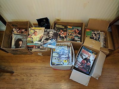 MASSIVE MODERN DRUMMER MAGAZINE LOT 5 BOXES HUNDREDS OF ISSUES 70s to 2000s