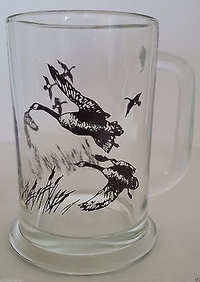 Avon Canadian Geese Vintage Glass Beer Mug Stein 5.5 1982 from The Perfect Combo