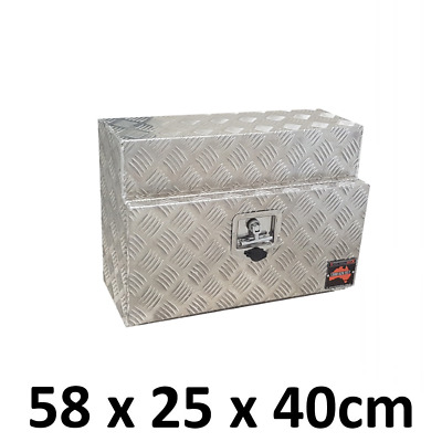 Aluminium Toolbox Ute Truck Trailer Square Under Body Under Tray Tool Box 524S