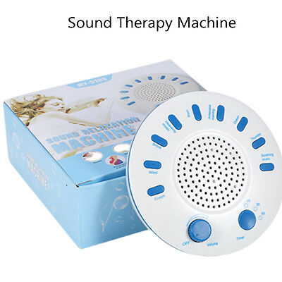Sound Therapy Spa Relax White Noise Sleep Easy Sound Conditioner Machine 9 Music