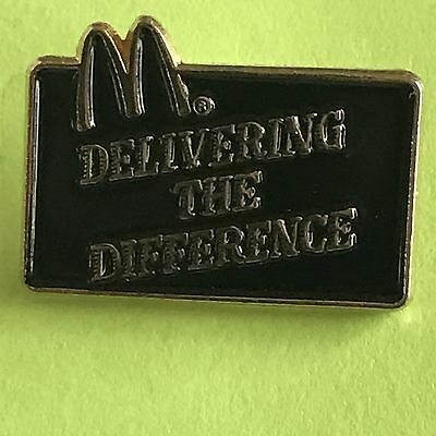 McDonald's Pin - Delivering the Difference