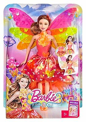 New BARBIE AND THE SECRET DOOR TRANSFORMING 2-IN-1 FAIRY DOLL