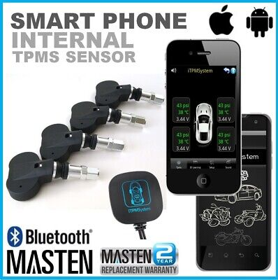 #Tyre Tire Pressure Monitor System Bluetooth TPMS Car Motorcycle Android iPhone