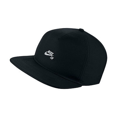 Nike SB Cap Dri-Fit Aerobil Black New Skateboard Snapback Hat