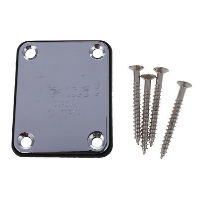 Electric Guitar Neck Plate Fix Tele Telecaster Guitar Neck Joint Board Z3R5