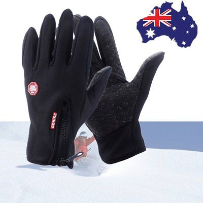 1Pair Outdoor Sport Gloves Driving Windproof Waterproof Full finger Glove Warm U
